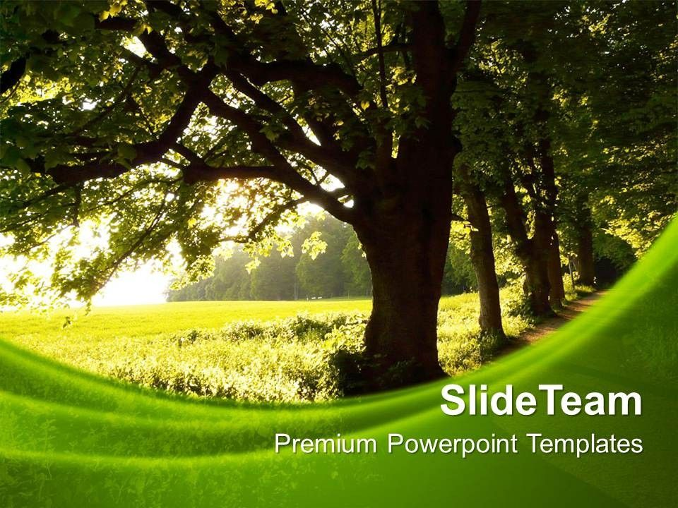 Nature Themed Powerpoint Templates Nature Themed Powerpoint
