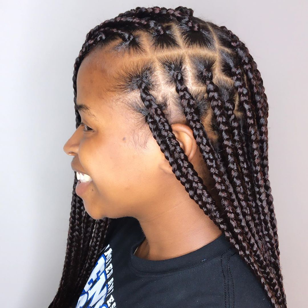 Excellent Hairstyle Ideas For Black Women Of African American Ethnicity Braids Braided Hairstyles Cornrows C Hair Styles Braided Hairstyles Afro Hairstyles