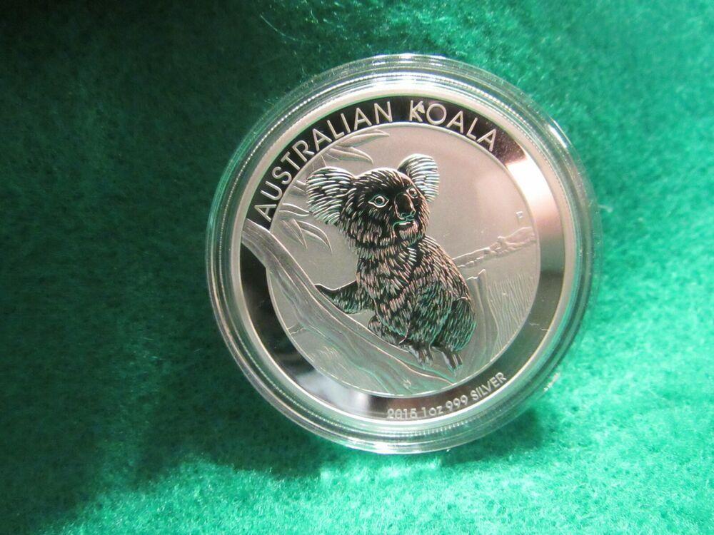 2010 1 oz Silver Australian Koala Perth Mint .999 Fine BU