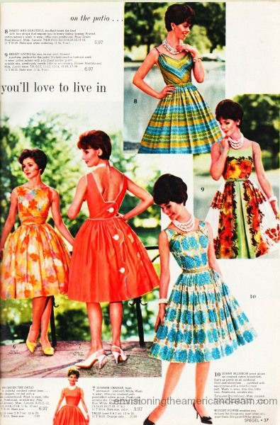 Synthetics Fashion 1960s Swscan02270 Jpg 395 600 Vintage Summer Dresses Womens Fashion Vintage Womens Fashion Casual Chic