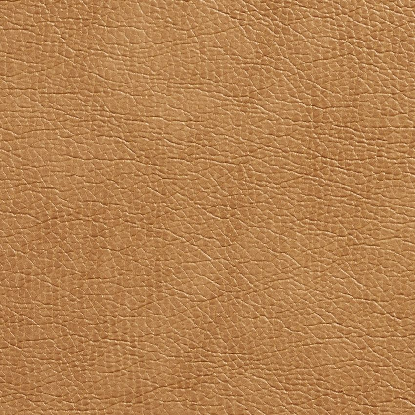 Cashew Beige Plain Automotive Animal Hide Texture Vinyl Upholstery Fabric
