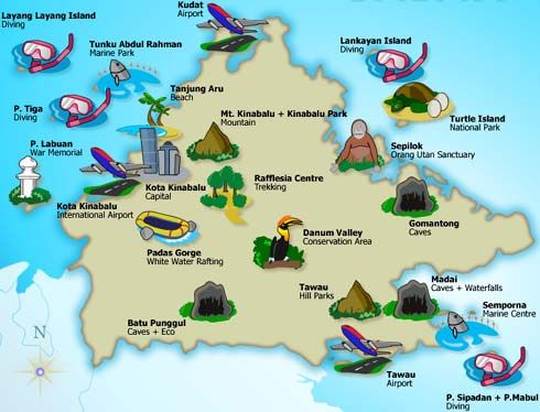 Sabah Malaysia Places To Be For The Future Pinterest Malaysia