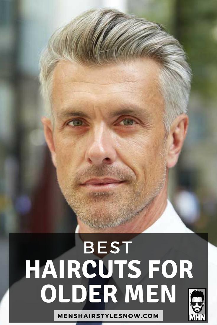 Best Hairstyles For Older Men in 10  Best hairstyles for older