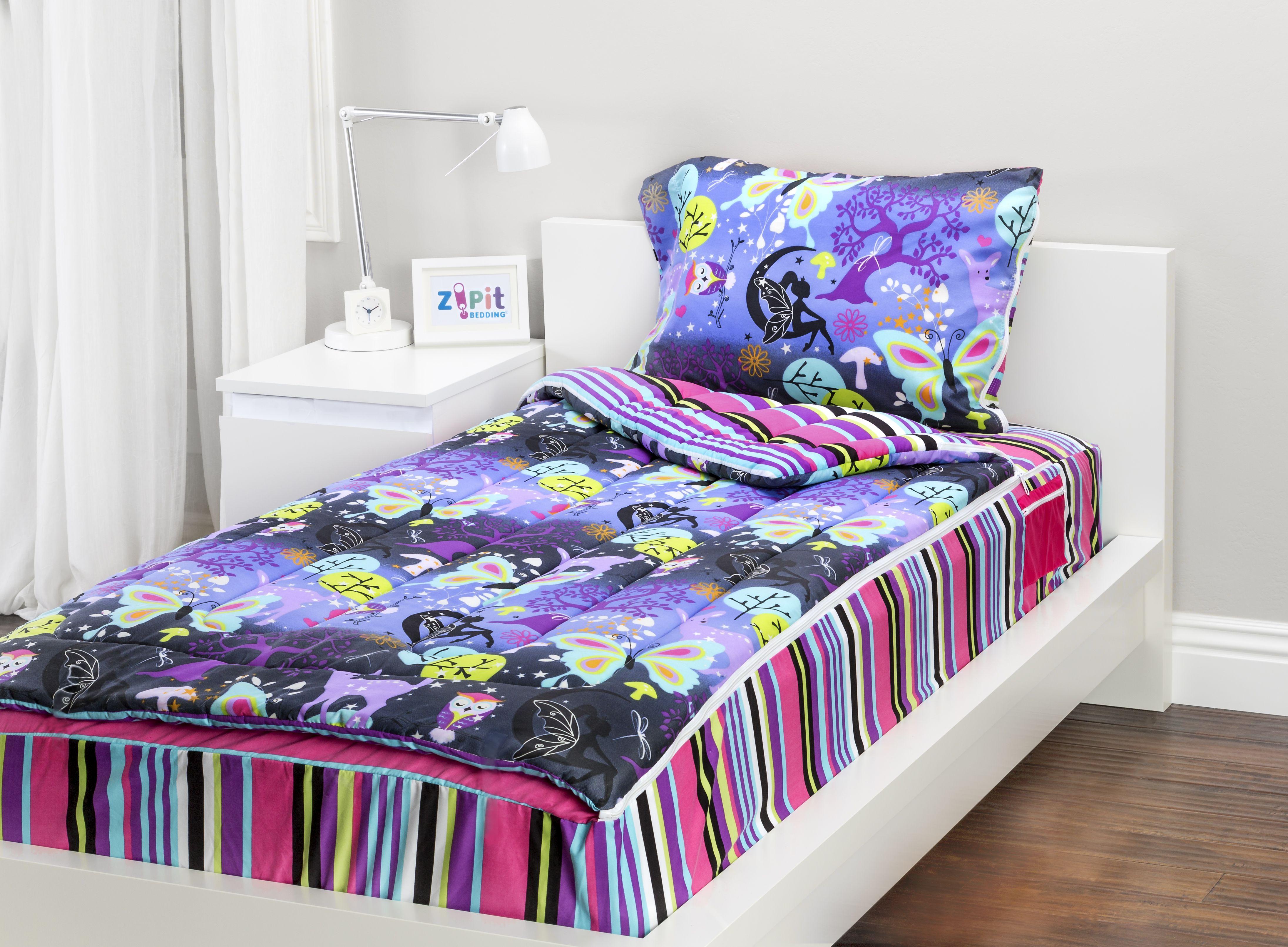 Fantasy Forest Zipit Bedding Set! Zipit Bedding is America