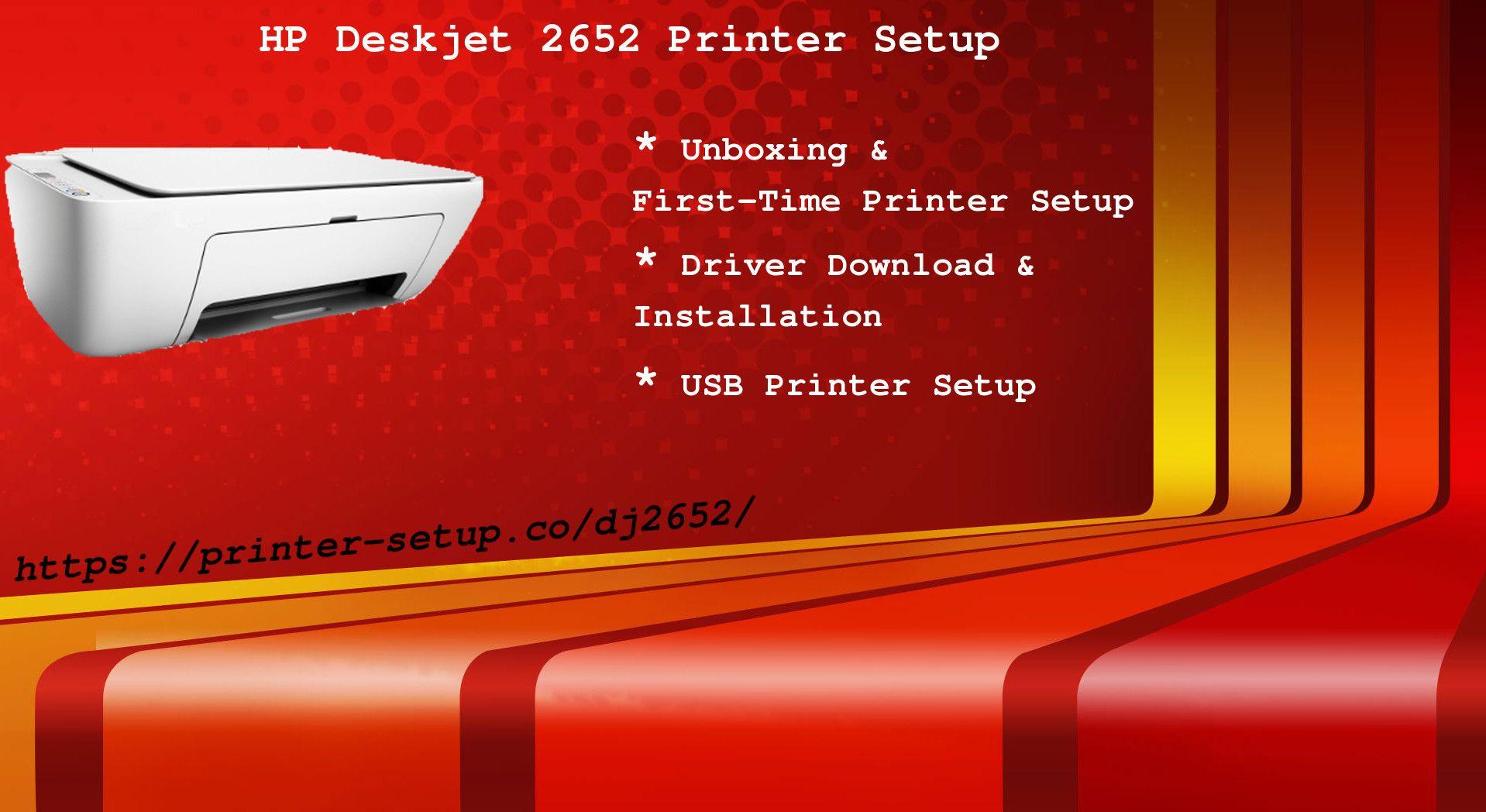 Quick & Easy StepbyStep Instructions for 123 HP Deskjet