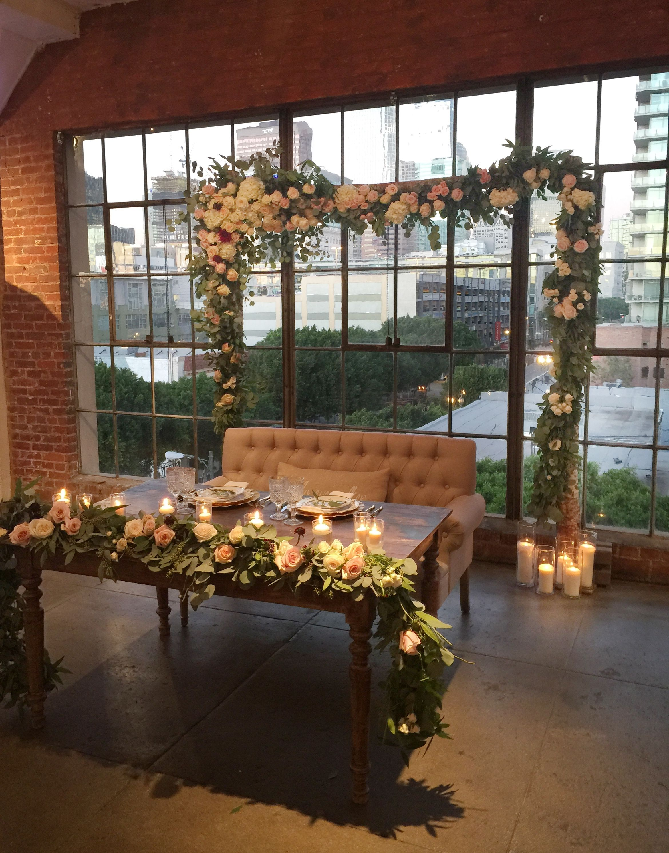 Urban wedding sweetheart table ideas downtown los angeles loft urban wedding sweetheart table ideas downtown los angeles loft wedding tap the link to shop on our official online store you can also join our affiliate junglespirit Image collections