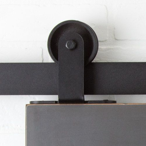 Top Mount Barn Door Hardware Kit Readied For Shipment This 6ft