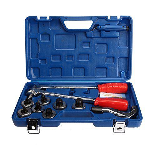 Classe /énerg/étique A cl/é pour robinet et /évier installateur de robinet Cl/é multifonctionnelle pour r/éparation et installation outils de plomberie Fortspang Cl/é de lavabo Rouge