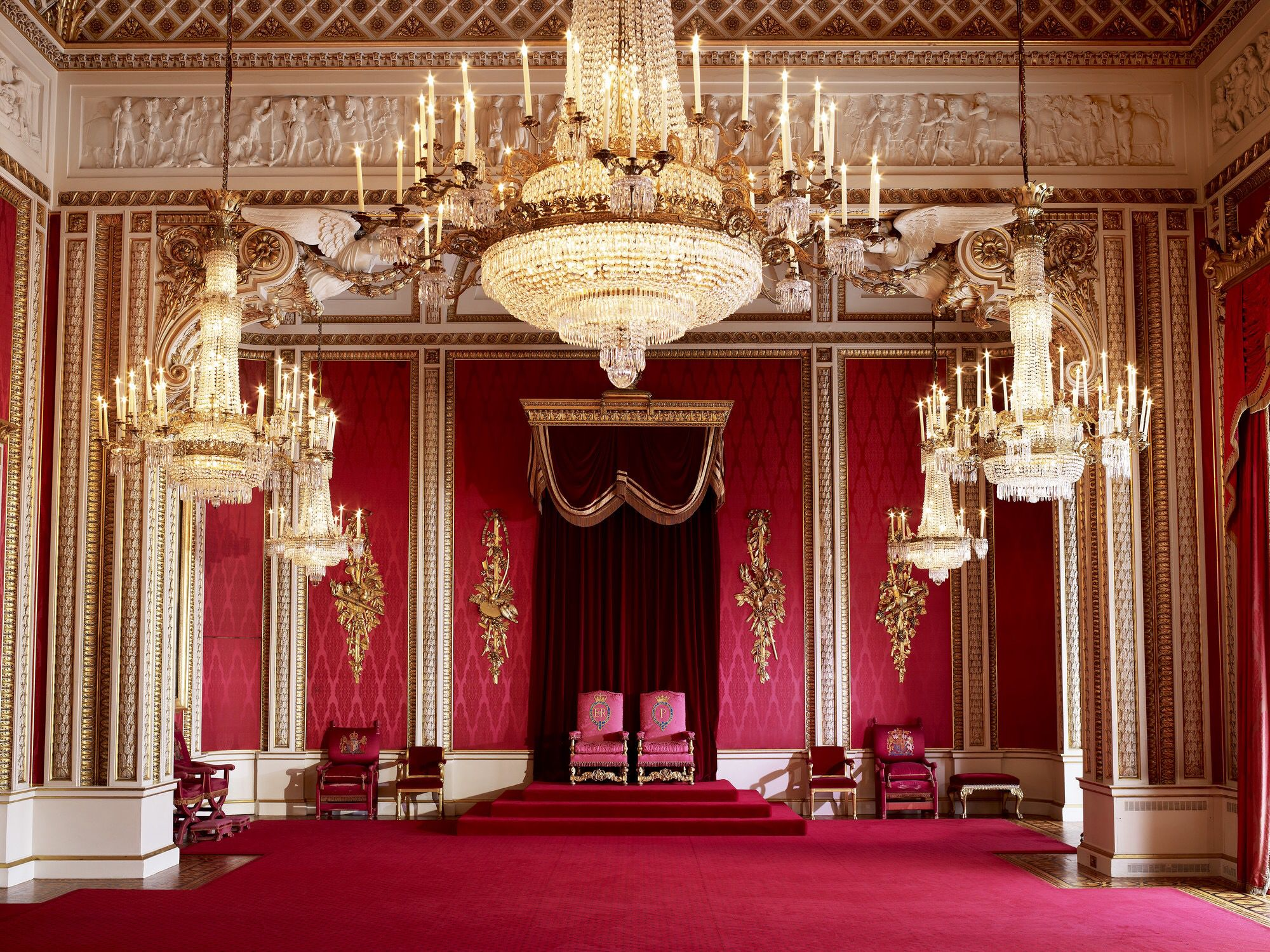 Throne room buckingham palace - Buckingham Palace Inside Throne Roomthe