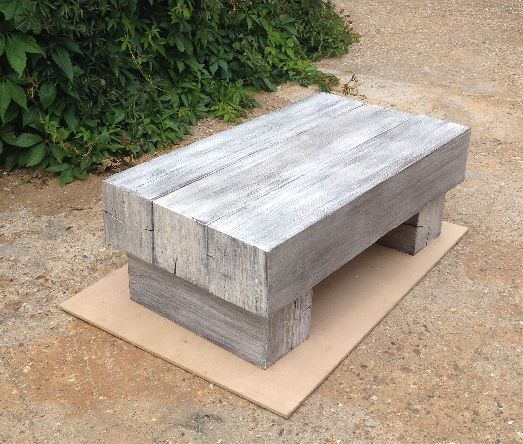 Chunky sleeper style coffee table construction cpe pinterest chunky sleeper style coffee table geotapseo Gallery