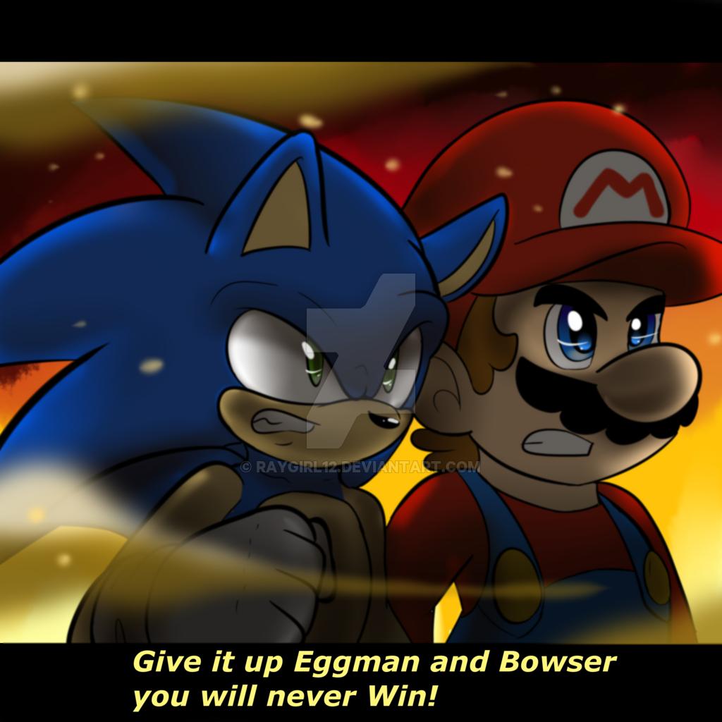 Peachsonic Teamsonic The Hedgehogsuper Mario