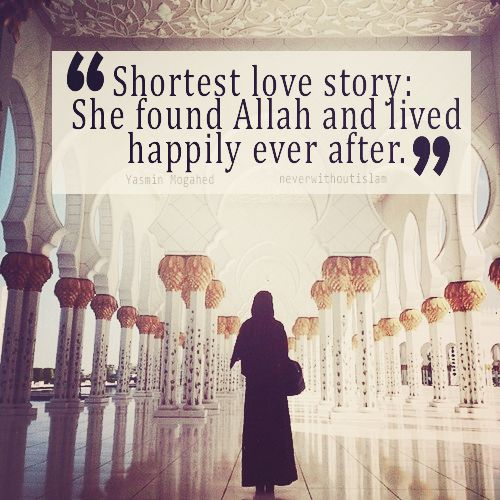 Quotes About Love For Him: Shortest Love Story...