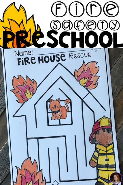 Preschool Printables for October: Fall and Fire Safety Worksheets ...