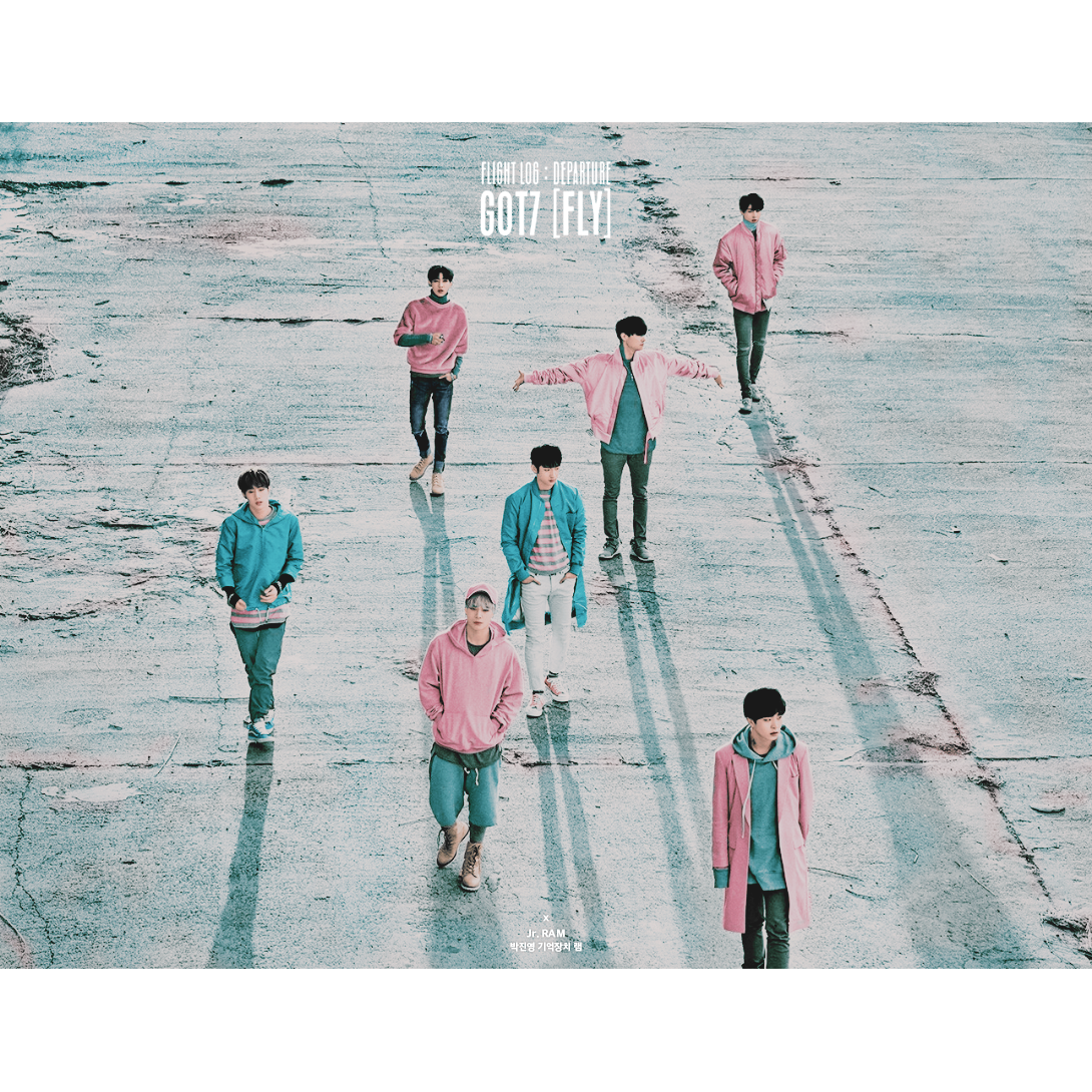"GOT7 ""FLY"" in color #GOT7"