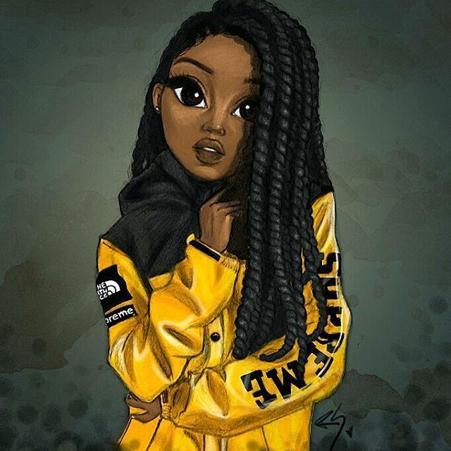 pin by bryanna mcclendon on art pinterest drawings black girls rh pinterest com