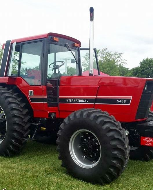 Ih 5488 Fwd Tractors Farm Equipment Logos And Lawn Mowers