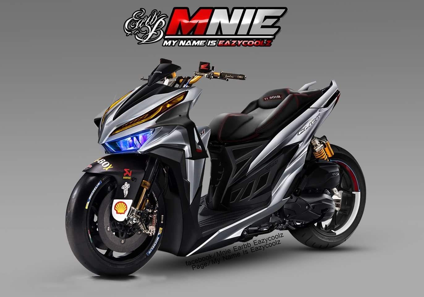 All New Honda Click150i Ps Concept Mobil Kendaraan Mobil Mewah
