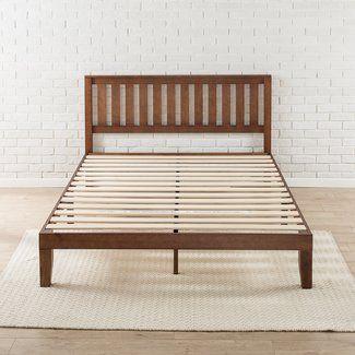 Winston Porter Dalila Solid Wood Platform Bed Wood Platform Bed
