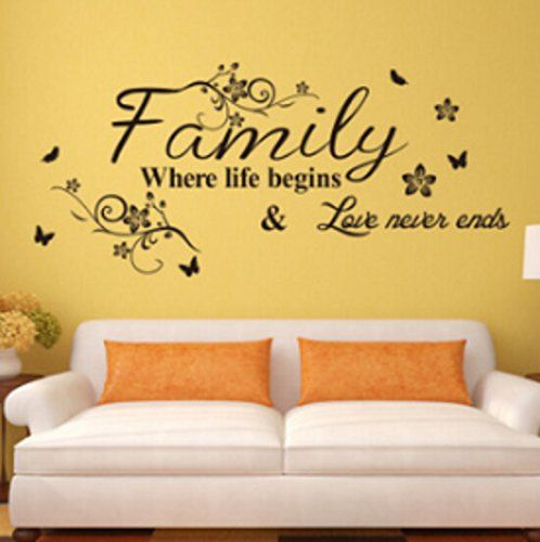 English Proverbs Wall Stickers