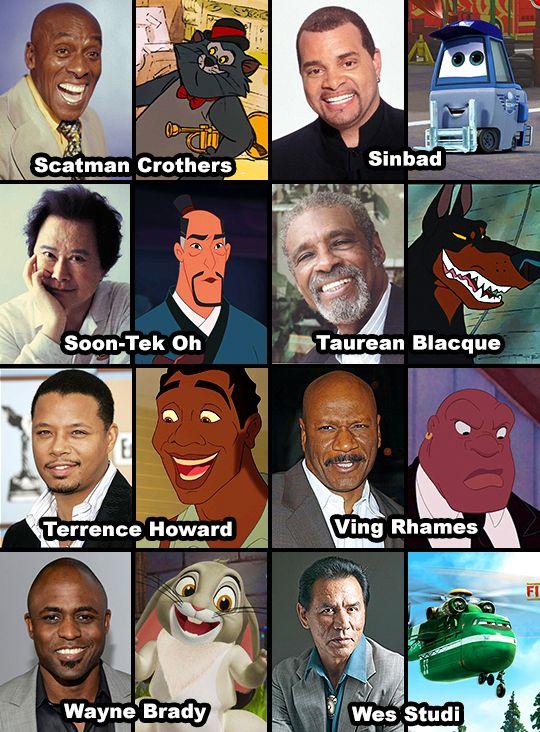 multicultural actors in disney movies | Ving rhames, Disney
