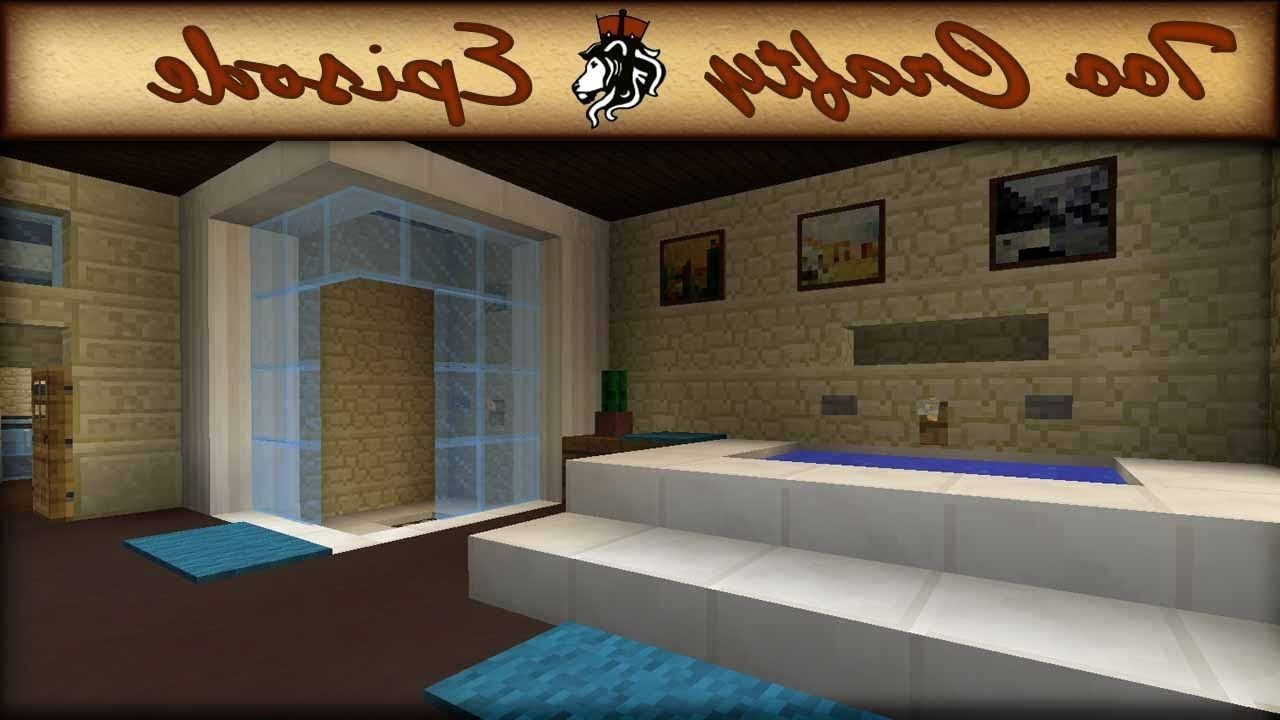 Minecraft Bathroom Design Too Crafty 16 Youtube Minecraft ...