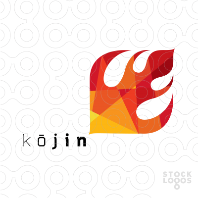 Kjin Is The Japanese God Of Fire Hearth And Kitchen The Logo
