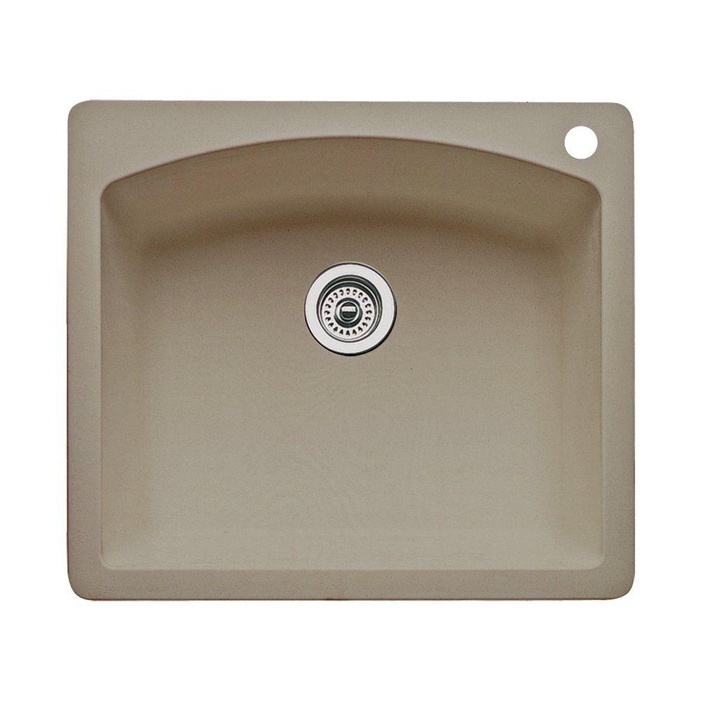 255 24 5 x 21 5 x 10 blanco 441280 diamond single basin