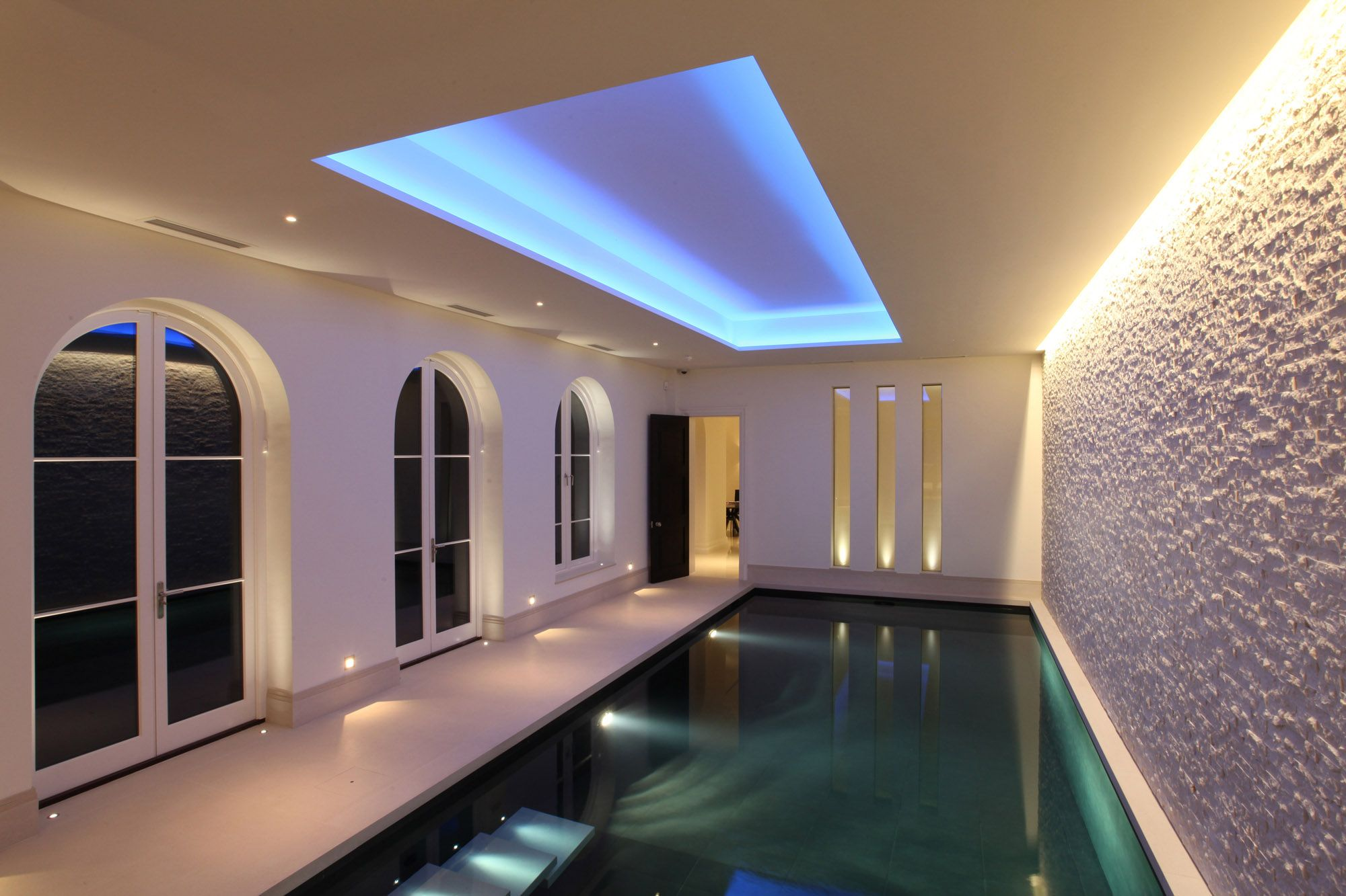 indoor pool lighting unusual pool lighting 2 9pp swimming pinterest pools