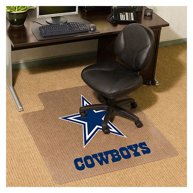 Dallas Cowboys Chair Pad Office Home Office Accessories Cowboys Catalog Dallas Cowboys Pro Shop Office Chair Mat Office Chair Chair Mats