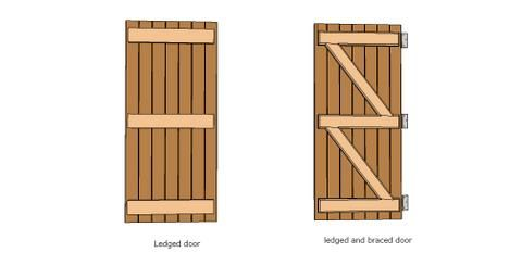 Building A Shed Door  Shed Door Design Ideas