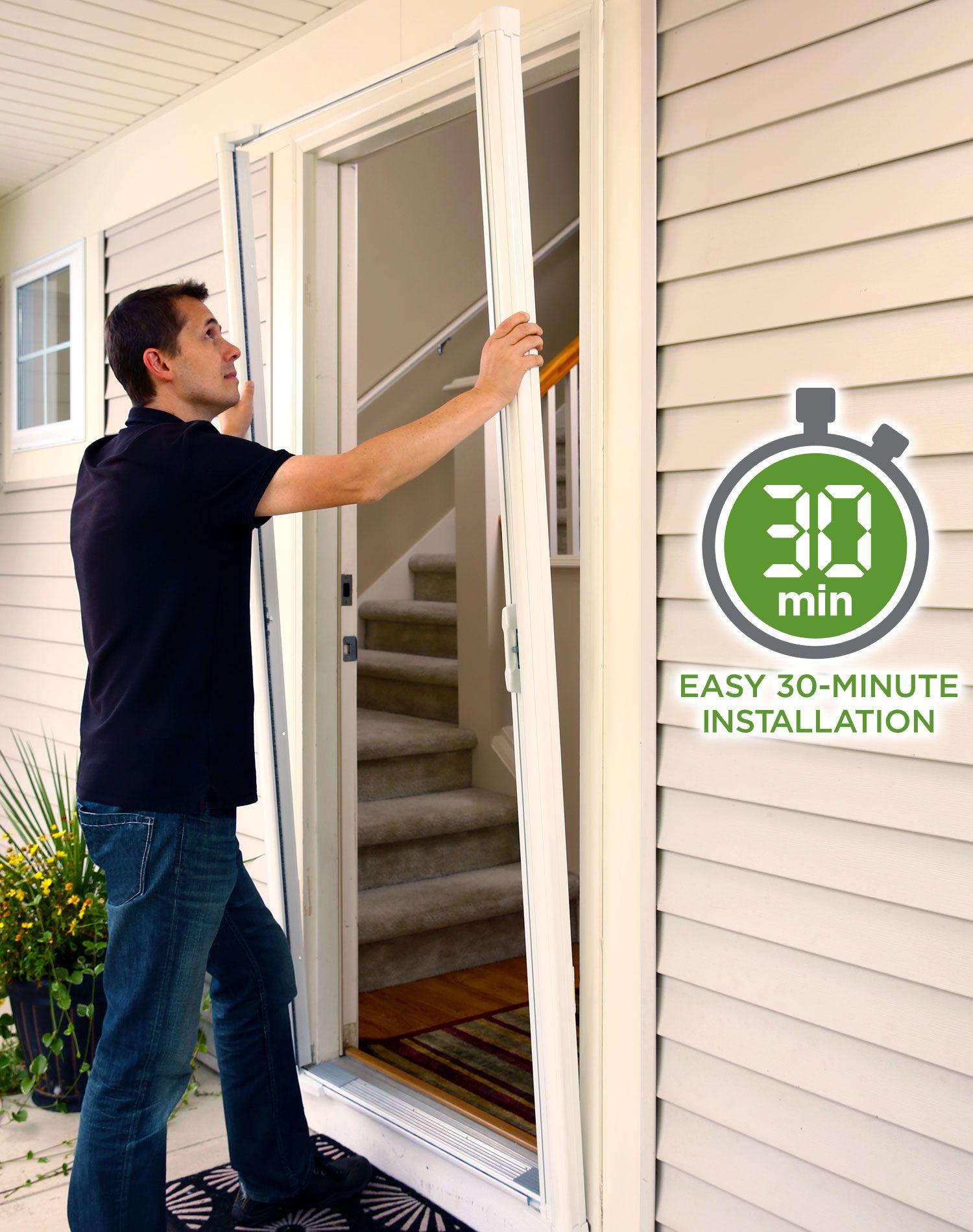 Odl Brisa Retractable Screen Doors French Door Screen