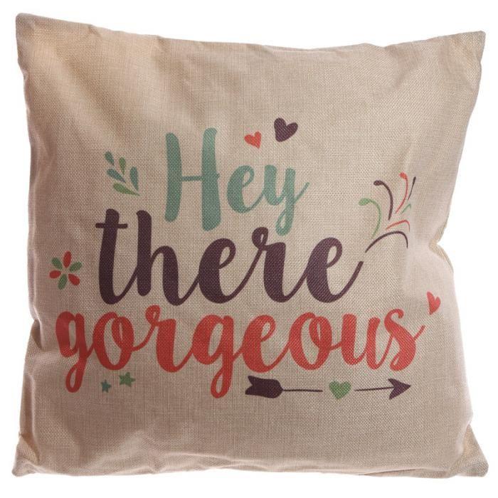 CUSH95 - Cuscino 43 x 43 cm - Hey There Gorgeous | Puckator IT #cushion #complementiarredo #cuscini