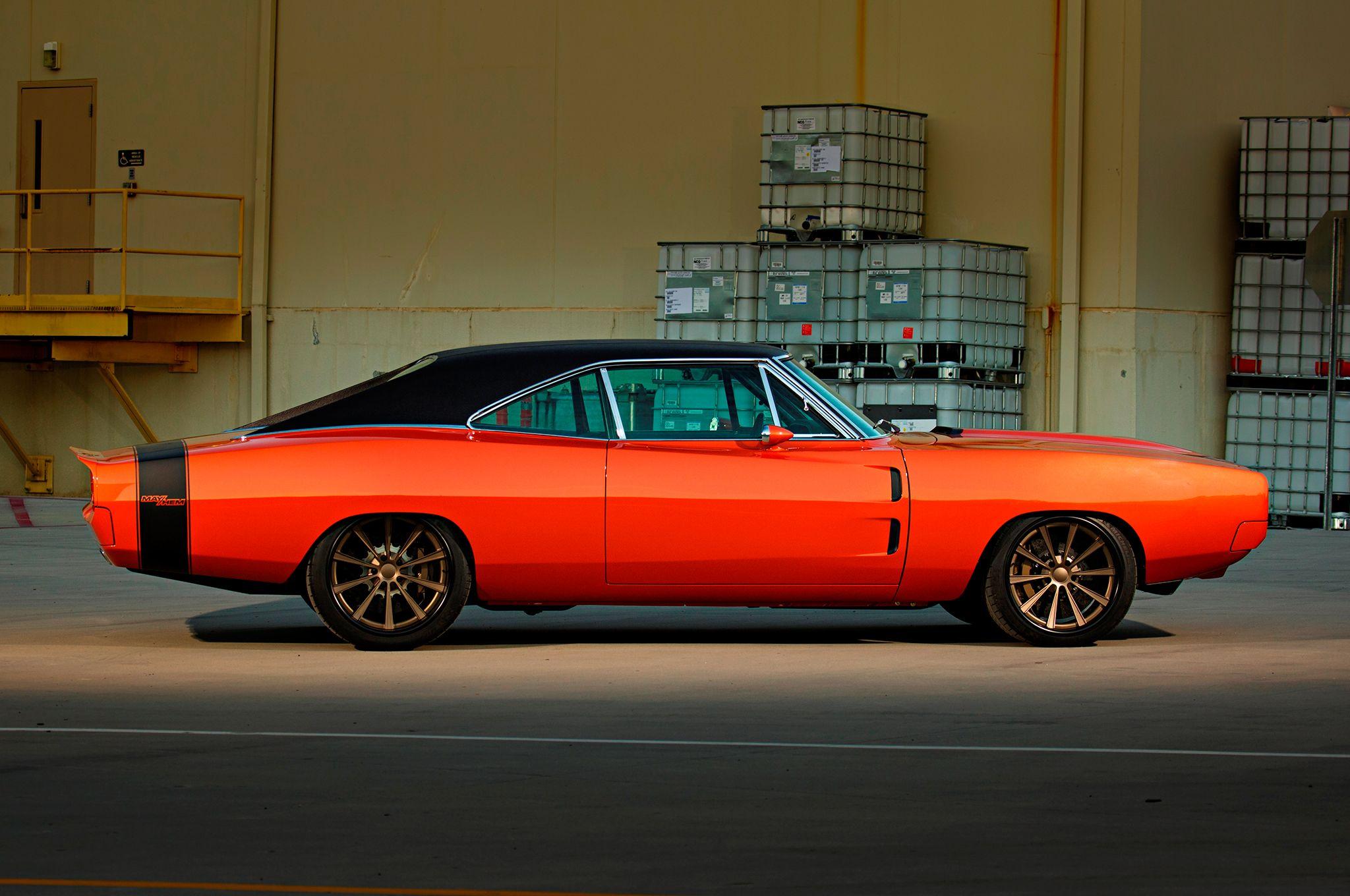 camaro experts build coolest car ever a 1969 dodge charger hot rod network cars. Black Bedroom Furniture Sets. Home Design Ideas