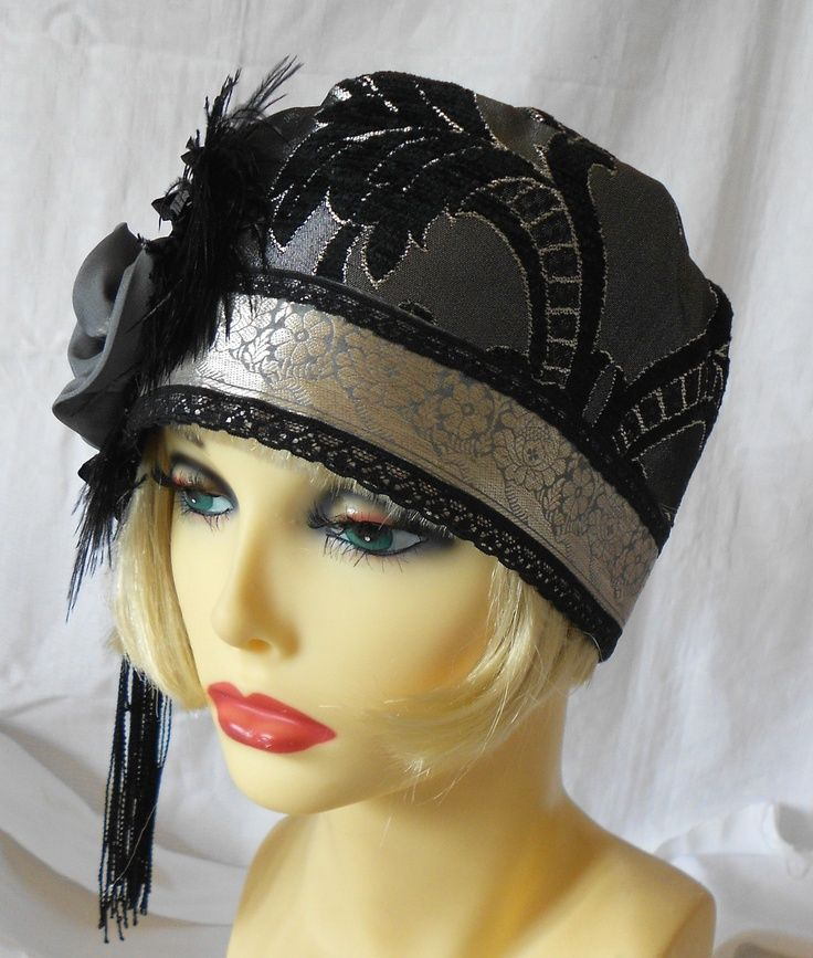 1920s hair styles 1920 vintage hats 1920s vintage inspired silver grey 8268