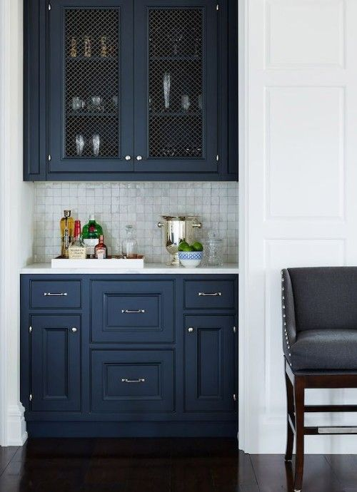 Back Kitchen Butlers Pantry Cabinet Color