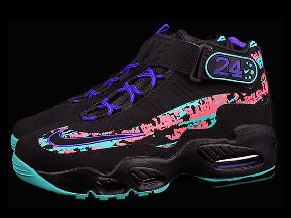 Nike Air Griffey Max 1 | Swagger like Mick Jagger | Pinterest | Ken griffey,  Turquoise and Black