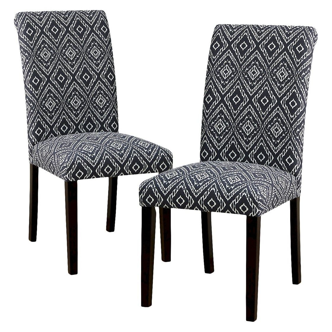 Avington Dining Chair Strie Storm (Set of 2) Target