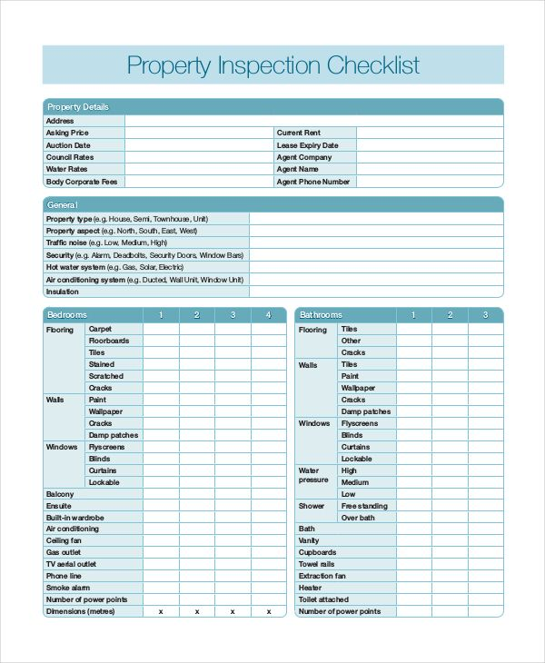 Home Inspection Report Template Pdf 5 Templates Example Templates Example Inspection Checklist Home Inspection Checklist Template