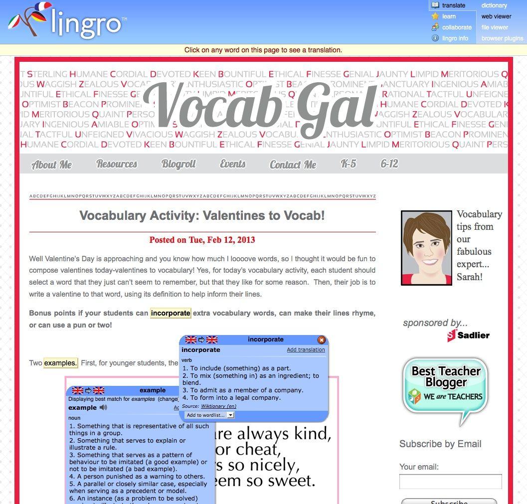 English Language Arts Blog With Images
