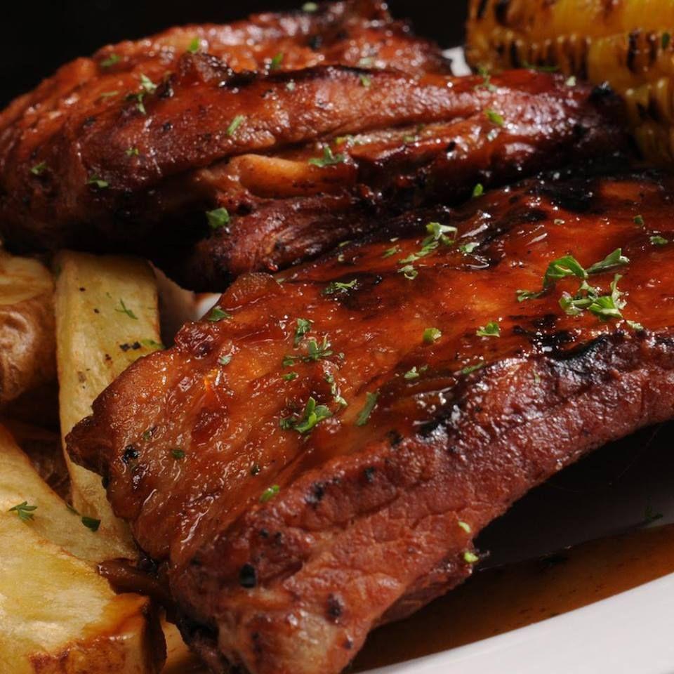 Costilla De Cerdo Al Jugo Pork Recipes Food Grilling Menu