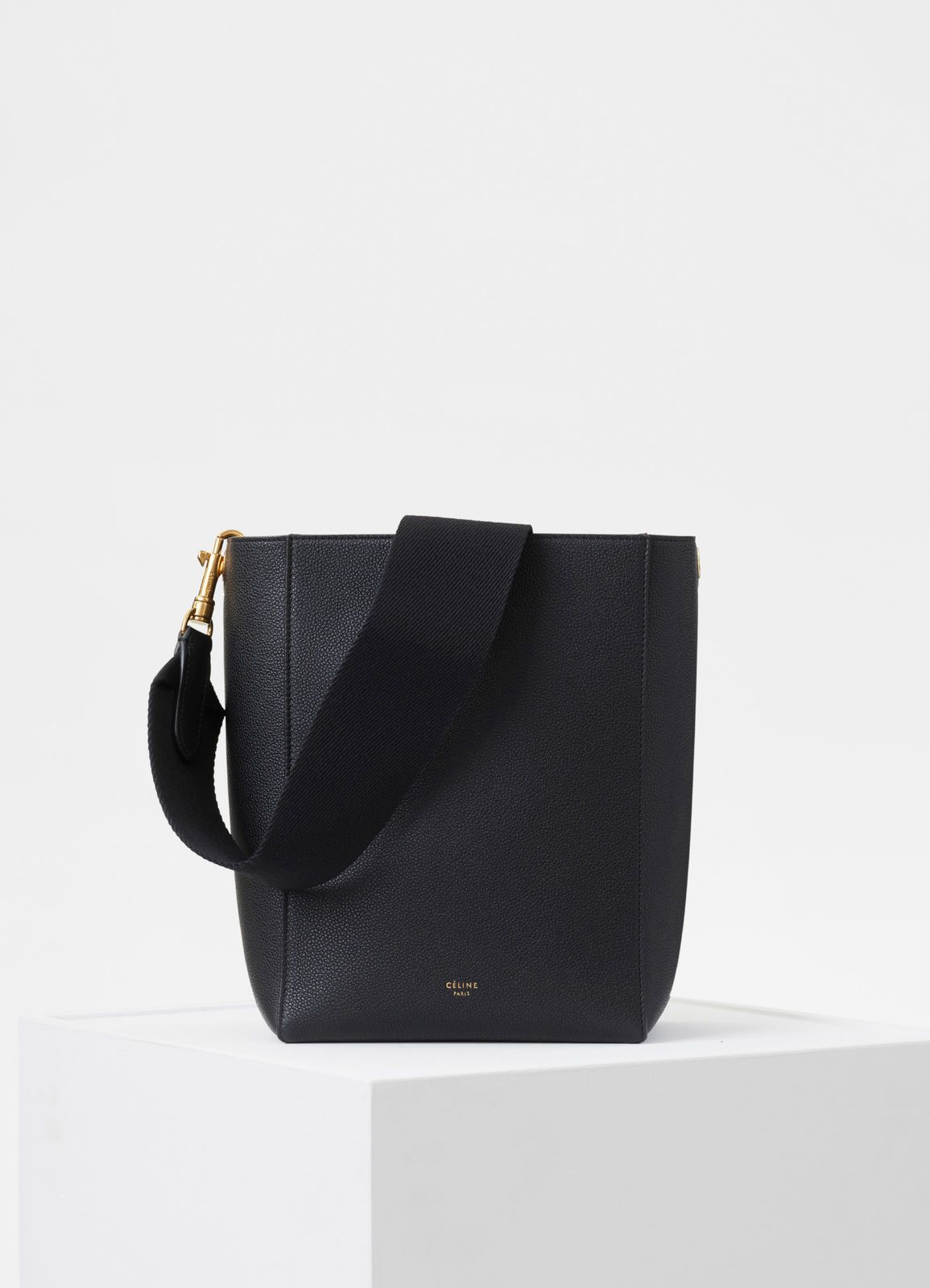 dfe7b6765 Sangle Small Bucket bag in soft grained calfskin | CÉLINE | bags ...