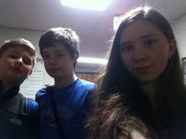 Me, Tanner and Chris