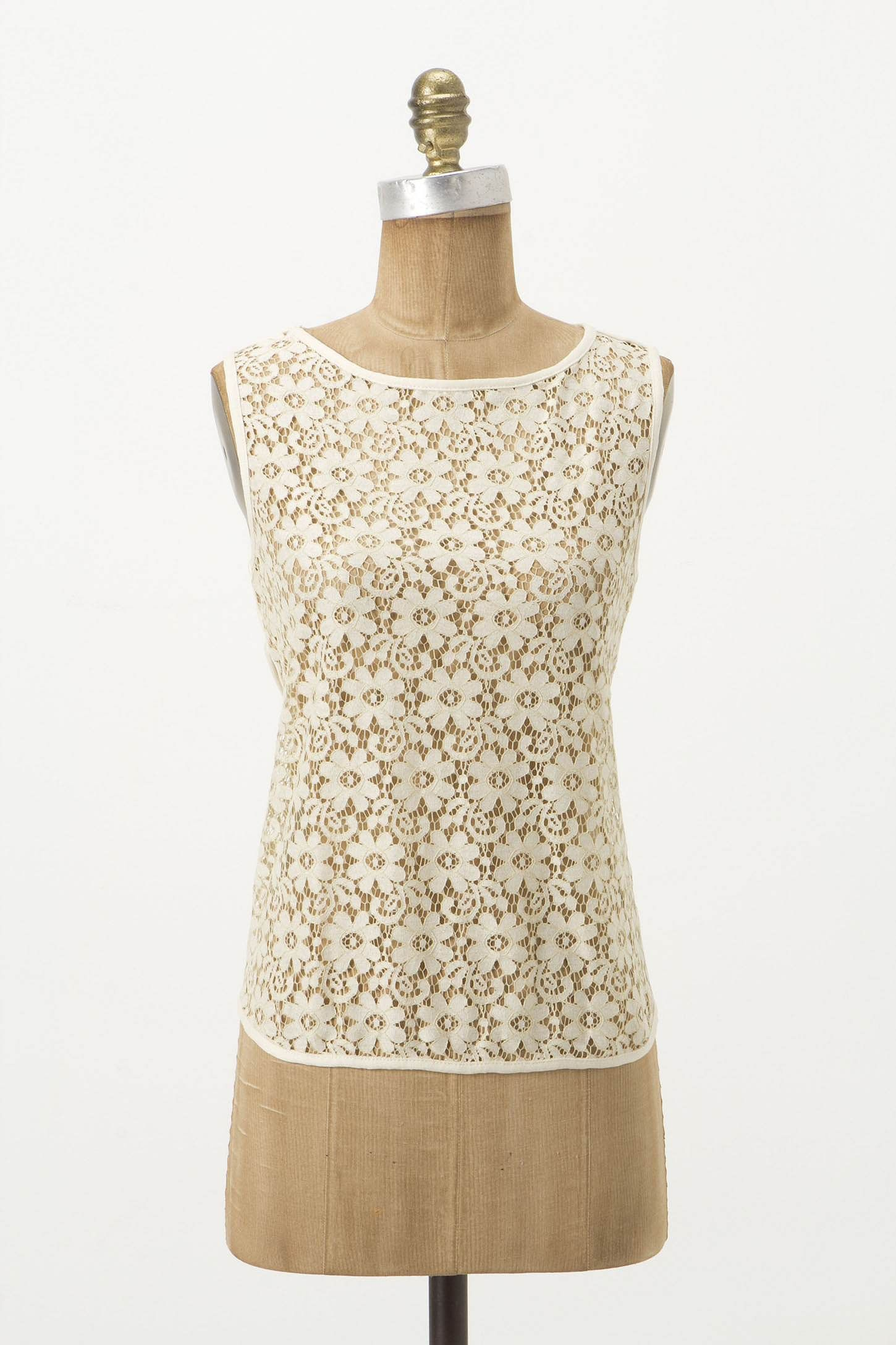Tulip Lace Shell - Anthropologie.com