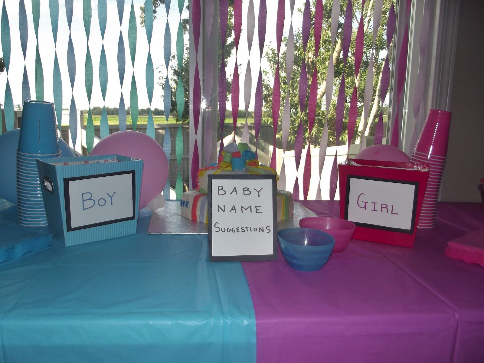 Gender Reveal Party Game Ideas