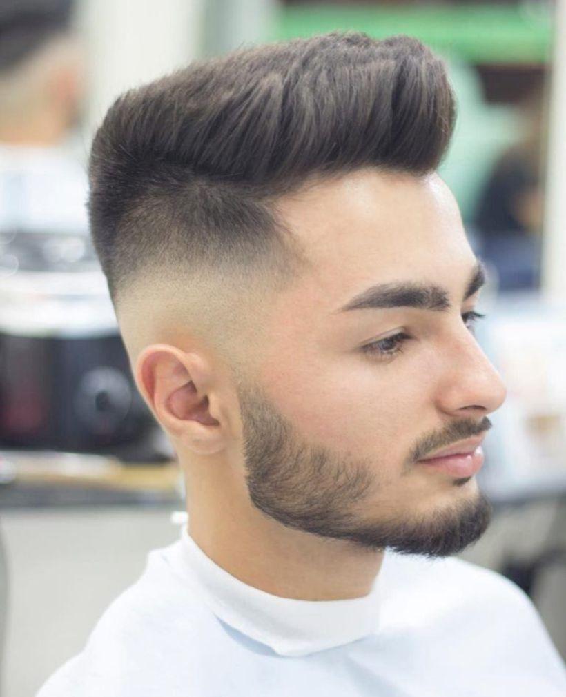 Men haircut styles 2018  trendy mens haircuts   menus hair style  pinterest