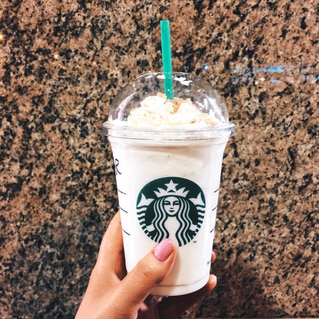 Starbucks Toffee Nut Frappé in 2019 Starbucks coffee