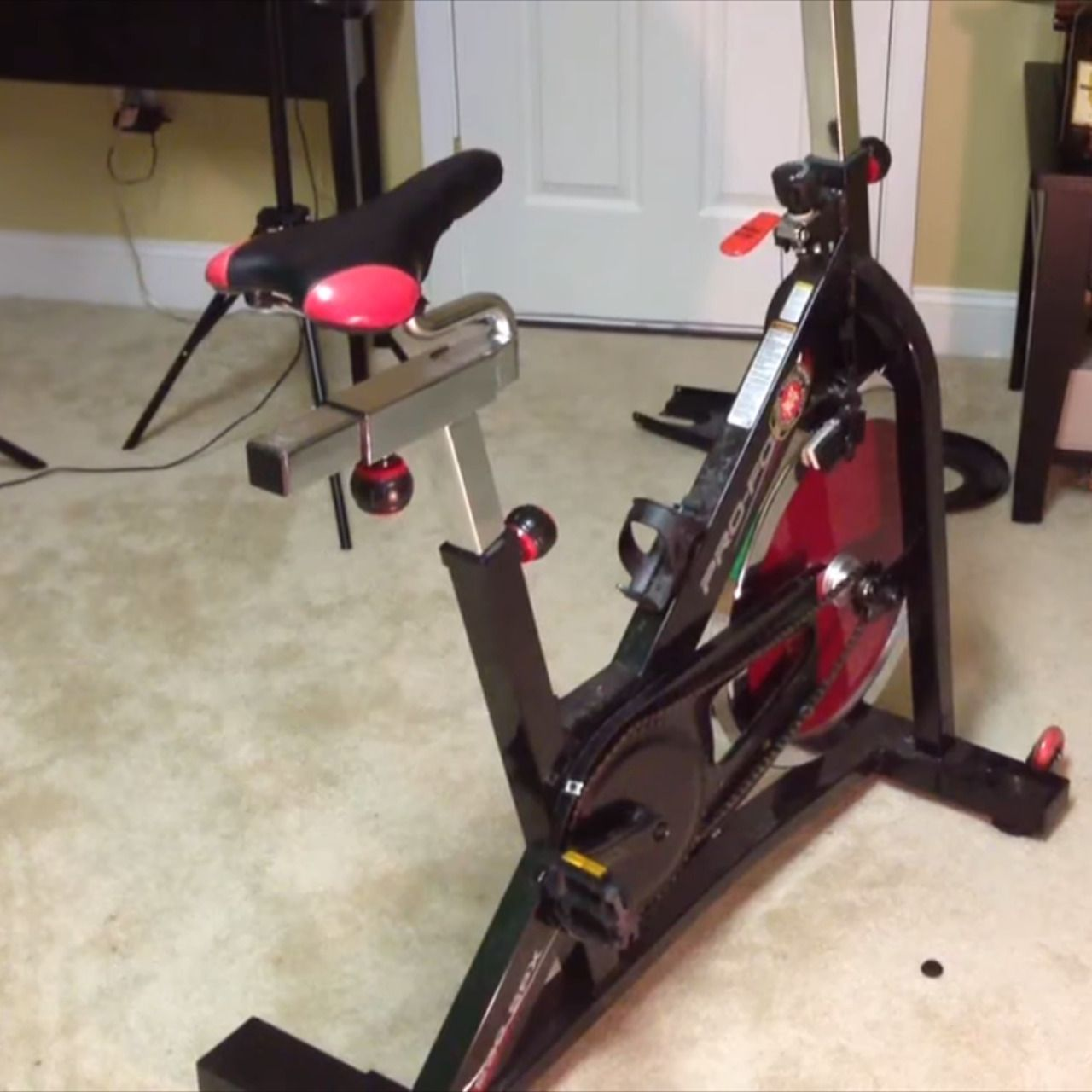 Foldable Exercise Bike Reviews Ironman Stationary Bike Weslo Pro