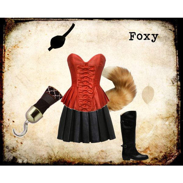 """Foxy Fox FNAF"" by ginger-girl1997 on Polyvore"