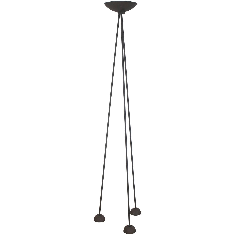 Koch Lowy Black Steel Tripod Floor Lamp Vintage Floor Lamp Floor Lamp Tripod Floor Lamps