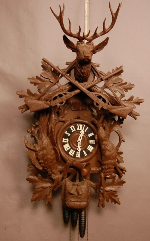 316 German Black Forest Style 3 Weight Coo Coo Clock 3 Feb 20 2011 Bruhn S Auction Gallery In Co Forest Style Coo Coo Clock Clock
